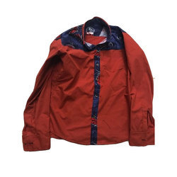 S2 Red Designer Boys Shirt, Size: 30 and 32