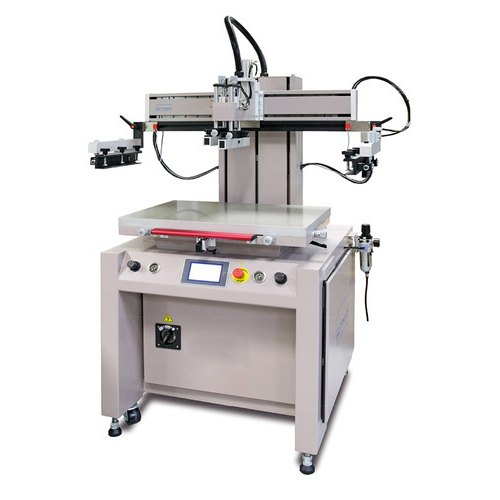 Iron Color Coated Screen Printing Machine, Capacity: 800-150 Print  Per Hour, 220 V