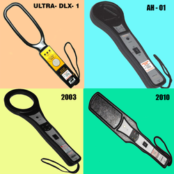 Hand Held Metal Detector - Model - 8 - Ultra - DLX - 1