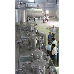 Milk Processing Machinery 1000-10000 LPH