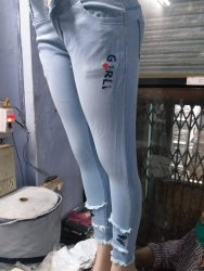 Heaven Ice wash only many paitons Ladies Jeans