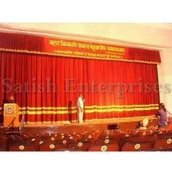 Velvet Auditorium Curtains