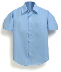 Plain School Uniform Shirts, Size: S, M and L