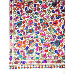 Multicolor Embroidered Cashmere Shawls