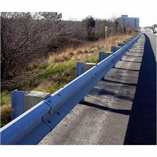 Crash Barriers - Metal Road Barrier Manufacturer from Faridabad