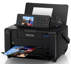 Epson Portable Photo Printer With Battery Usable Option, Pm520