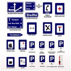 Informatory Road Sign