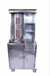 shawarma machine full cabinate