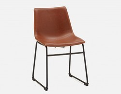 Sk Arts Brown Chair Leather