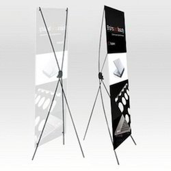 X Stand Display Standee