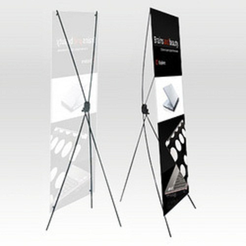 X Stand Standee at Rs 990 /piece | X-Frame Banner Stand - Lakshya ...