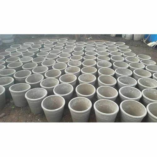 Asbustos Cement Flower Pots