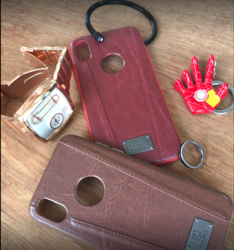 Iphone 8 Plus Leather Cover