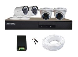 Hikvision Camera and HD DVR Kit