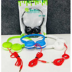 Wireless With Microphone Soroo Multicolour Headphone