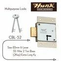 Brass Hunk Multipurpose Lock Cbl-52