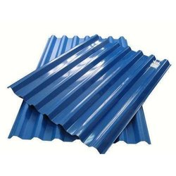 Blue Galvanized Color Coated Profile Roofing Sheet