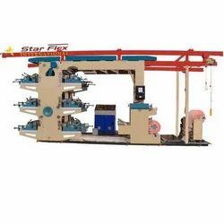 Star Flex International Flexographic Woven Sack Printing Machine 4 Color