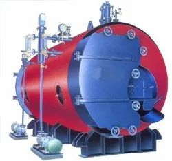 Double Ace Vertical Oil Fired Three Pass Steam Boilers, Capacity: 0-500 kg/hr, Working Pressure: 0-5 Kg/Sq.cm.g