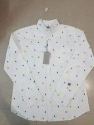 Cotton Full Sleeves Jack and Jones Mens Shirts