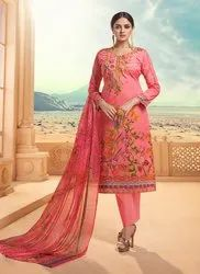 Cambric Cotton Churidar Suit