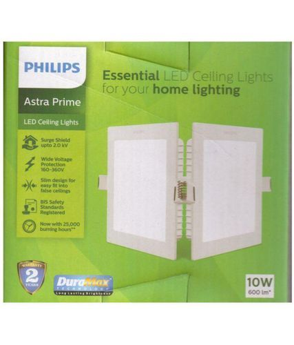 Cool White Ceramic Philips 15w Astra Prime Led Panel Light Rs 450 Number Id 19308433855