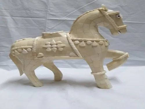 Decorative Bone Inlay Horse Packaging Type Box Size Dimension 10 Inch Height Rs 7500 Piece Id 21748496997