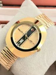 Rado Diastar Golden Day-date Automatic Watch