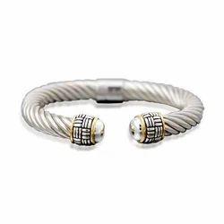 Marquees Silver Peridot Bracelet