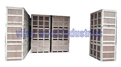 Industrial Wooden Box For Storing & Packaging