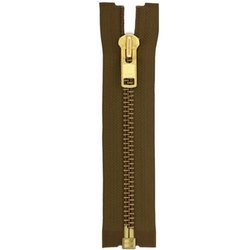 MGOR-10 Golden Brass Zipper