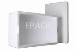 White EPS Thermocol Storage Box