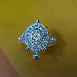 Silver Kachaua Finger Ring