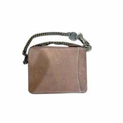 Male Brown Biker Wallet RFID Protection, Card Slots: 6
