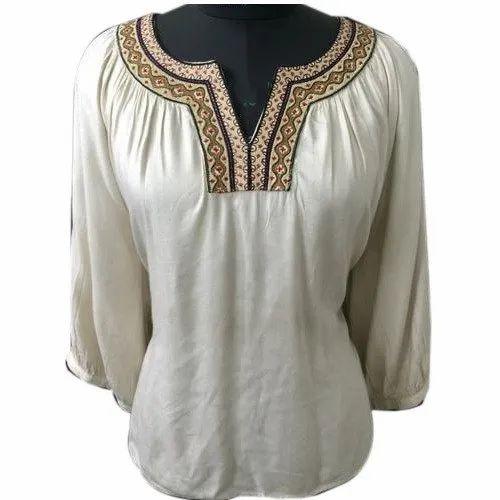 b026fbaa505 S-xl Casual Wear Girls Designer Hosiery Top