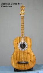 木吉他微型展示工艺品