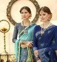 Designer Georgette With Embroidery & Zari Work Saree
