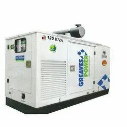 126.5 Bhp 125 KVA Greaves Power Diesel Generator Set