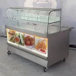 Samosa Display Counter