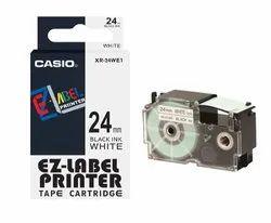 Casio XR-24WE1  Label Printer Tape