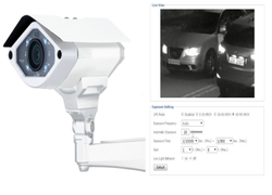 Essl Metal License Plate Recognition LPR Camera
