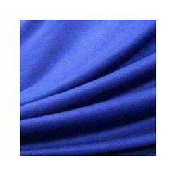 Blue Plain Polyester Fabric