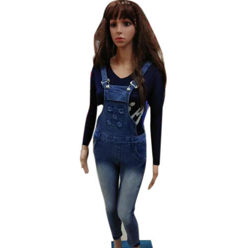 262c9d69217 Blue Ladies Denim Dungaree
