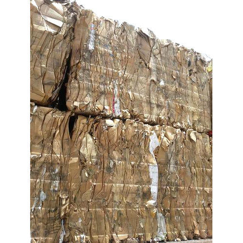 Old Corrugated Cardboard Paper Waste