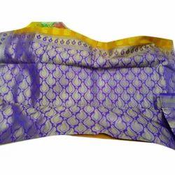 Ladies Silk Patola Saree, Length: 6.3 m