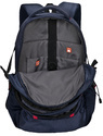 Navy Blue Ribs Backpack Bag