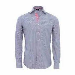 Slim Fit Full Sleeves Mens Formal Shirt, Packaging Type: Packet