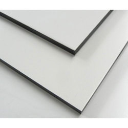 White Metallic Aluminum Composite Panel