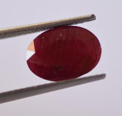 Natural African Ruby-3.05 Carat IGI Certified