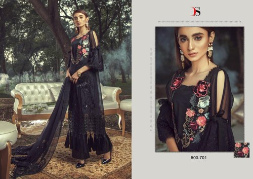 Party Wear Embroidered Gulbano Vol 8 Deepsy Fabric Georgette  Suit